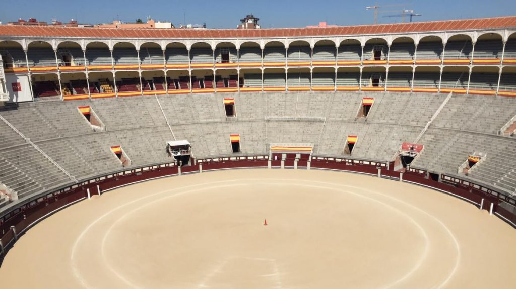 The Bullring of Las Ventas